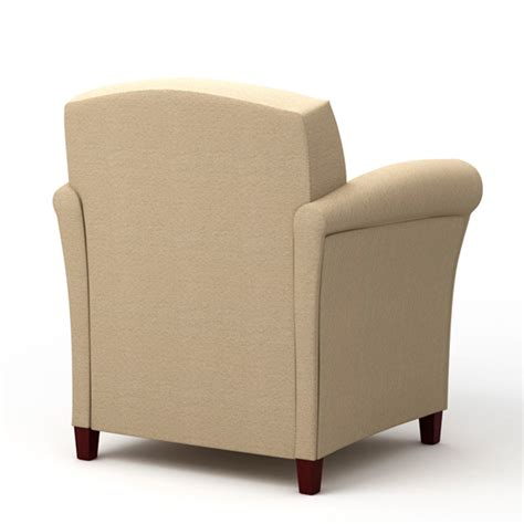 Rolled Arm Chair by Tria Rolled Arm Chair Integraseating