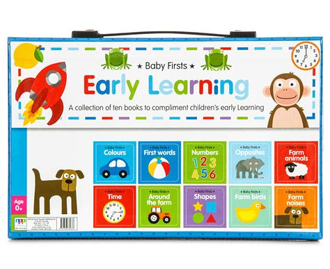 learning herbalism workbook books baby firsts early learning 10 book slipcase 9781783732876