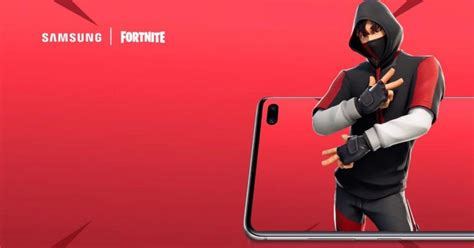 le skin fortnite exclusif aux smartphones samsung galaxy