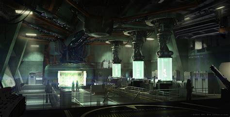 the bureau xcom laboratory artwork