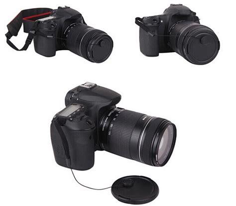 Tali Kamera Dslr For Nikon High Quality tali tutup lensa kamera anti lost lens cap black