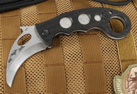 emerson folding karambit emerson combat karambit sf tactical folding knife