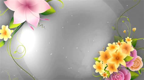 background flowers hd flower animation background