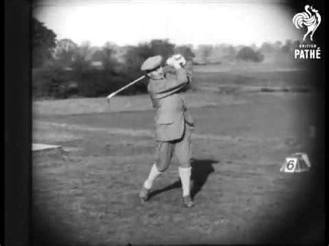 harry vardon golf swing harry vardon golf swing youtube
