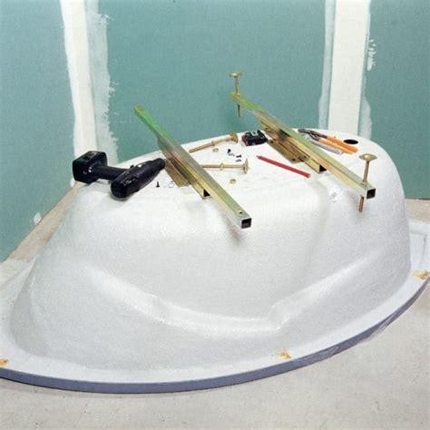 installation d une baignoire d angle installer une baignoire d angle avec un tablier int 233 gr 233