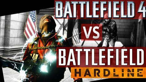 battlefield hardline review bf4 hardline comparison battlefield 4 vs bf hardline review