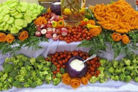 Wedding Reception Food by Buffet Table Food Display Ideas Photo Gallery