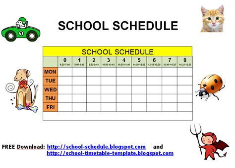7 Best Images Of Printable Class Schedule Maker Class Schedule Maker Template Weekly Class Free Template Maker