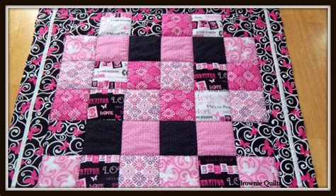 Breast Cancer Quilt by Ribbons Of Quilt Breast Cancer Awareness