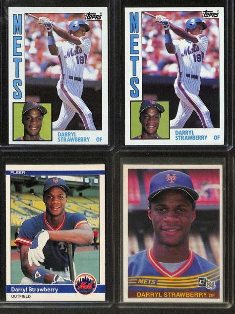 Don Mattingly Rookie Card by Lot Detail Lot Of 9 1984 Rookie Cards Of Don Mattingly