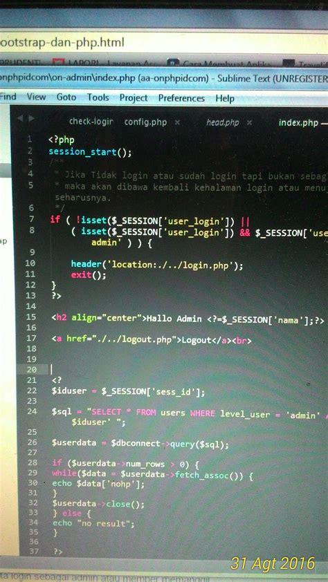 membuat form login bootstrap belajar php belajar bootstrap membuat form login bootstrap belajar php belajar bootstrap