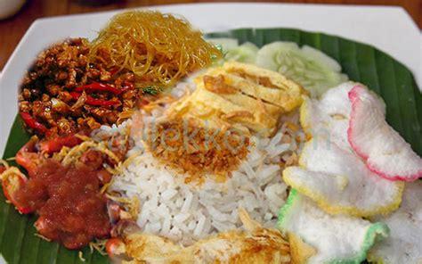 resep nasi uduk betawi asli gurih komplit resep masakan