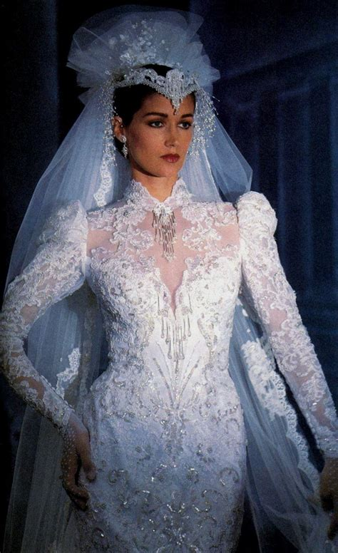 Wedding Hairstyles Through The Ages by Wedding Dresses 1980 Wedding Dresses Weddings Through