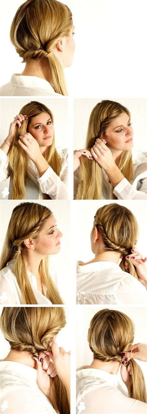 easy hairstyles for medium hair no heat 43 best hot hair ideas images on pinterest hairdos