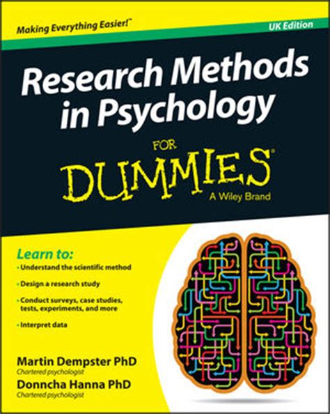 research matter a psychologist s guide to engagement books wiley research methods in psychology for dummies martin