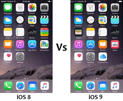 themes iphone ios 8 4 ios 9 vs ios 8 4 1 performance speed comparison