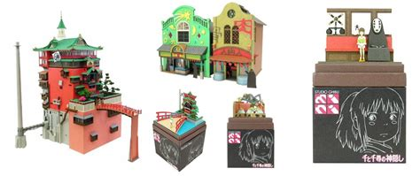 Spirited Away Papercraft - 9 spirited away merchandise for the avid ghibli collector