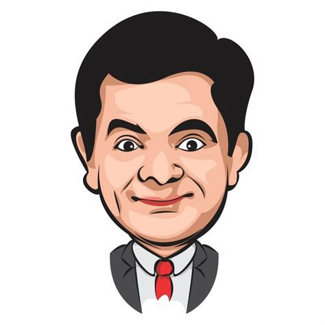 Mr Bean Line how to draw vector in corel draw mr bean