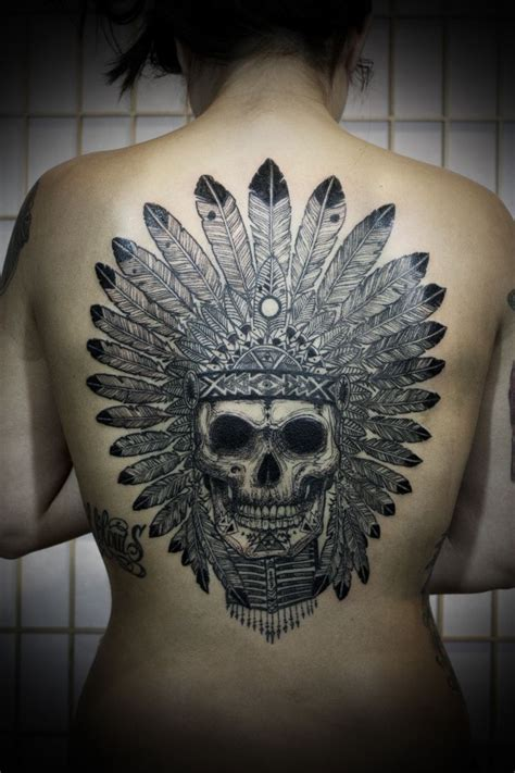 headdress tattoo indian headdress
