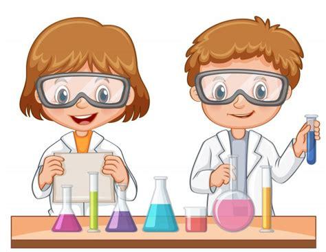 imagenes de simbolos cientificos dos estudiantes hacen experimento cient 237 fico descargar