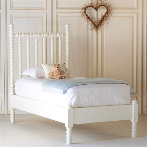 In The Bed by Harriett Spindle Child S Bed With Low Footboard By The