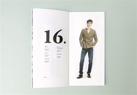 Lookbook Layout Inspiration | ami autumn winter lookbook the book design blog