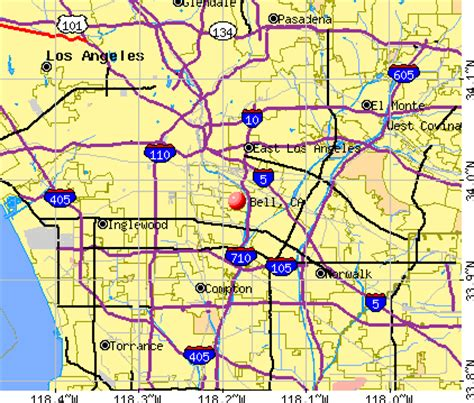 bell california ca profile population maps real