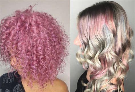 pastel hair color pastel hair color popsugar