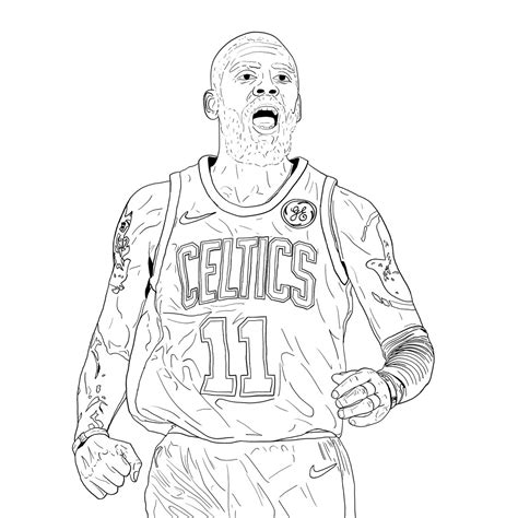 Kyrie 4 Sketches by Acrillustration On Quot Inks On My Kyrie Irving