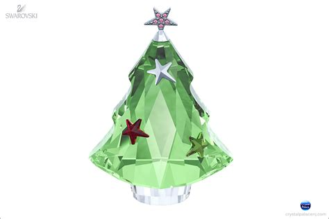 swarovski christmas tree chrysolite
