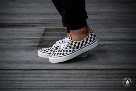 Vans Oldskull Black White Size 39 44 vans authentic 44 dx anaheim factory black checkerboard vn0a38enoak