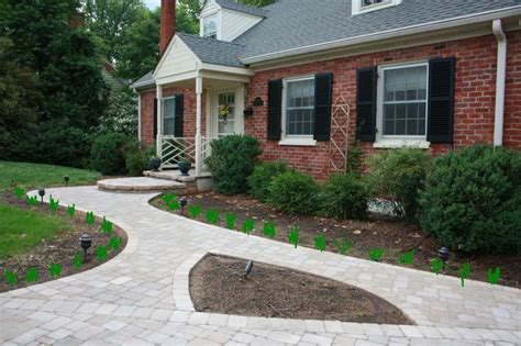 prefab sidewalks walkway ideas for front of house on a budget design ideas pinterest