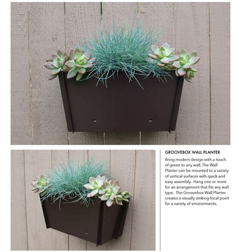 Planter Wall Mount by 1000 Ideas About Wall Mounted Planters On