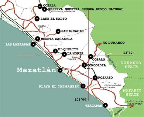 map  sinaloa mexico  travel information