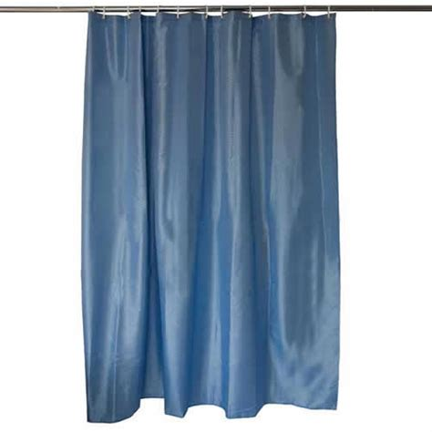 Weighted Shower Curtain by Polyester Shower Curtain With Weighted Bottom Hem