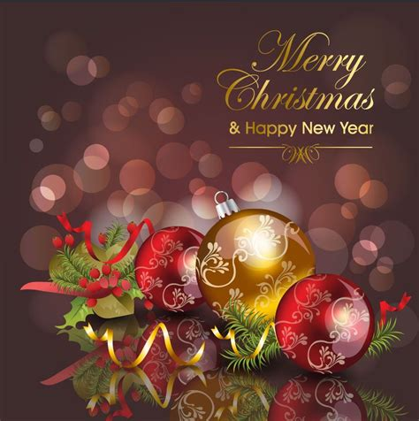 christmas cards merry christmas card vector  vector sources merry christmas message