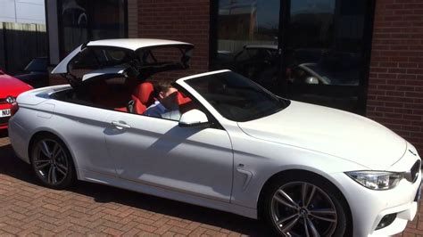 BMW 4 Series Convertible Roof Operation   YouTube