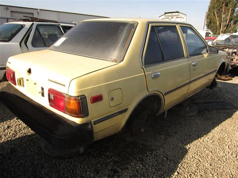 nissan datsun 1983 junkyard find 1983 nissan sentra sedan the truth about cars
