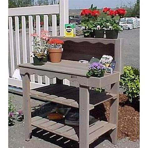 outdoor potting bench with storage outdoor cedar wood potting bench bakers rack garden