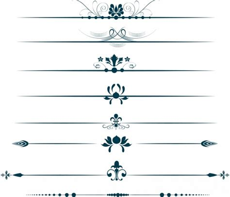 decorative symbols decorative symbols design elements classical flowers