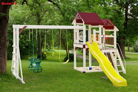 red swing set amish crafted vinyl wood play sets serving delaware maryland