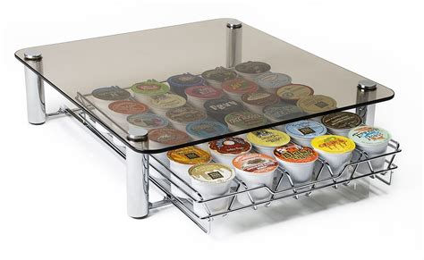 Keurig Tray Drawer deluxe glass coffee drawer for keurig kcups only 14 99