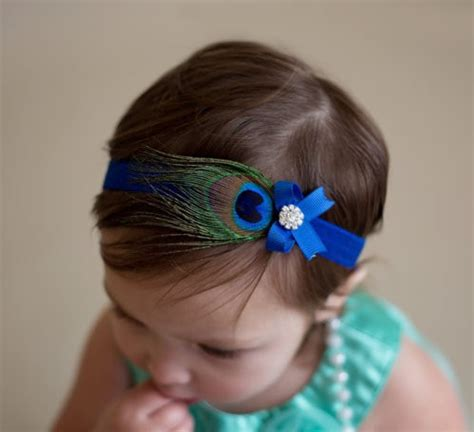 Ribbon Baby Headband aliexpress buy feather baby elastic bowknot infant headband ribbon flower hair