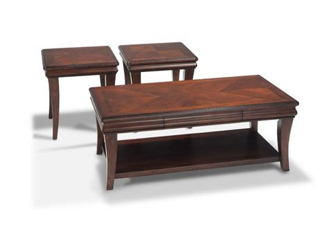 bobs furniture end tables louie coffee table set coffee end tables living room