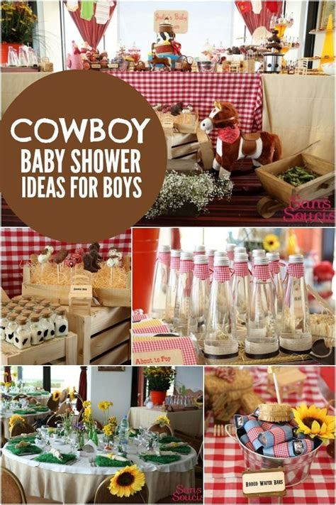 western theme baby shower decorations pin by nadine on coopers birthday