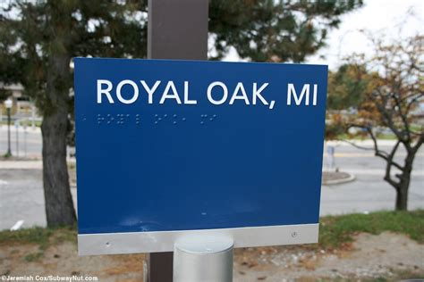 Royal Oak Awning by Royal Oak Mi Amtrak S Wolverine The Subwaynut