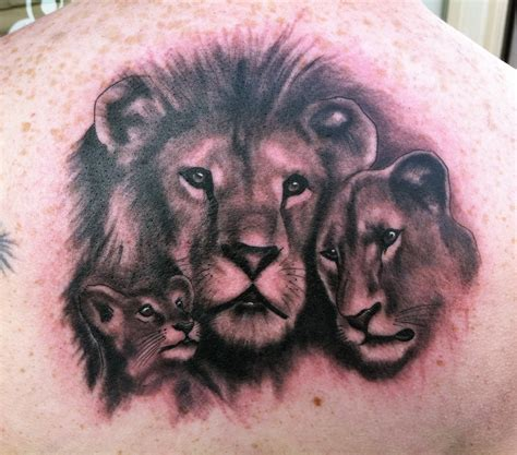lion and cub tattoo lioness designs ideas and meaning tattoos for you