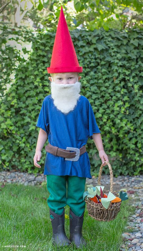 garden costume ideas diy gnome costume lia griffith
