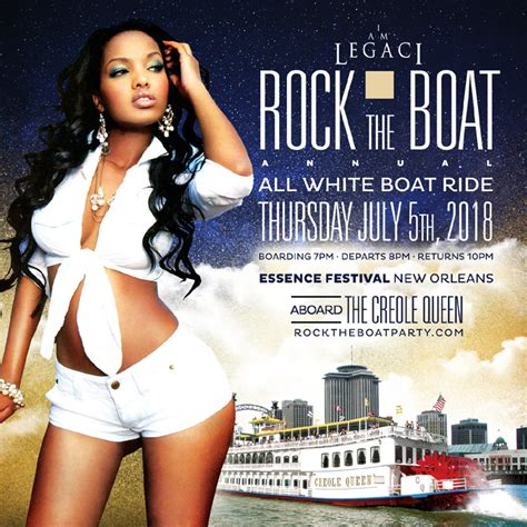 rock the boat white party rock the boat 2018 the 6th annual all white boat ride