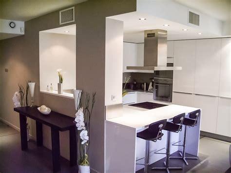 cuisine design lyon appartement lyon 6 agencement cuisine design ilot central